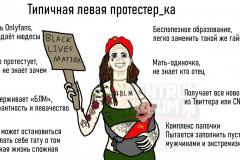 Типичная левая протестер_ка