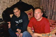 Максим Тесак с отцом