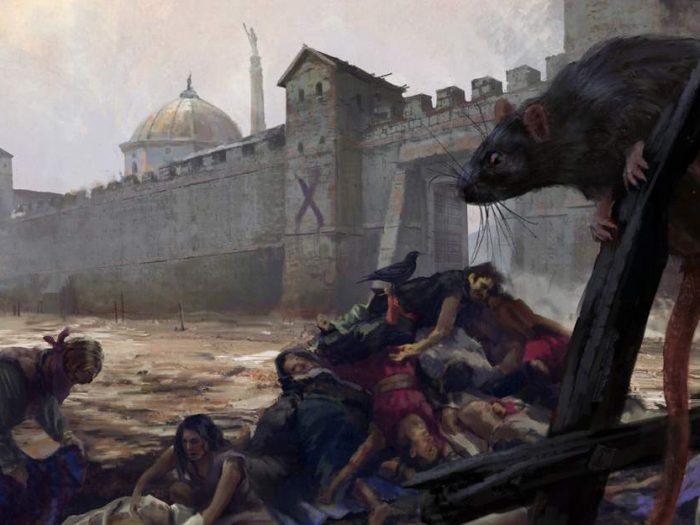Чума 1348 года во Франции