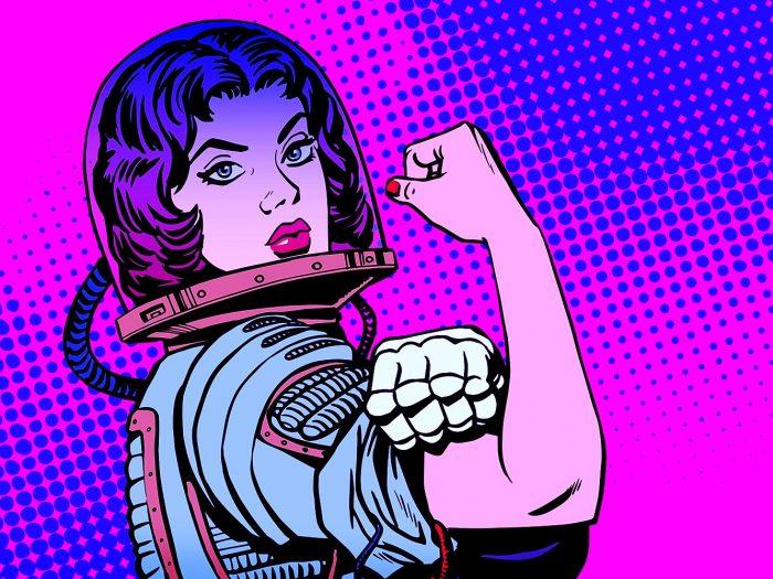 Как выглядят феминистки в интернете и в жизни