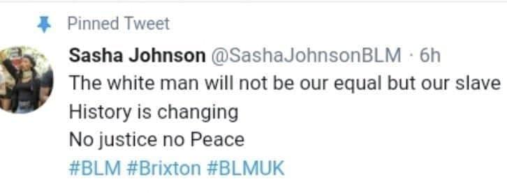 Один из членов BLM раскрыл истинные цели движения