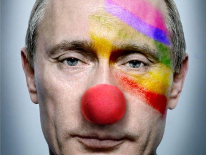 В интернете высмеяли назвавших Путина политиком года