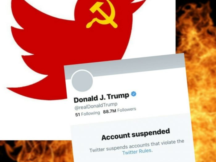 #twitter1984 - hashtags appeared against Trump's blocking