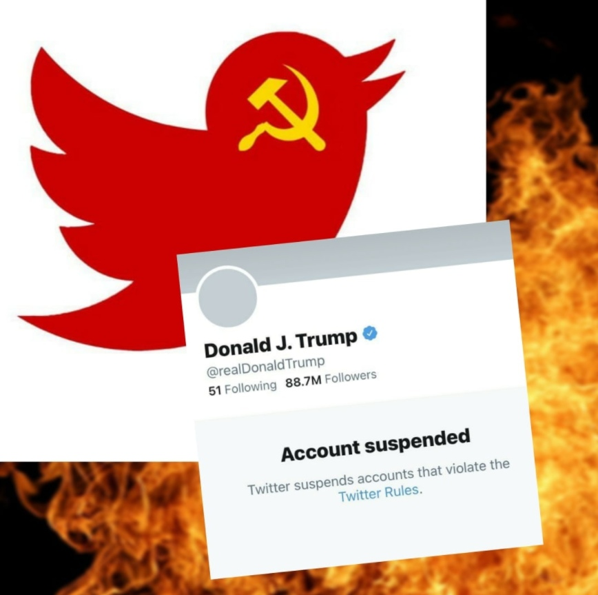 #twitter1984 – hashtags appeared against Trump's blocking