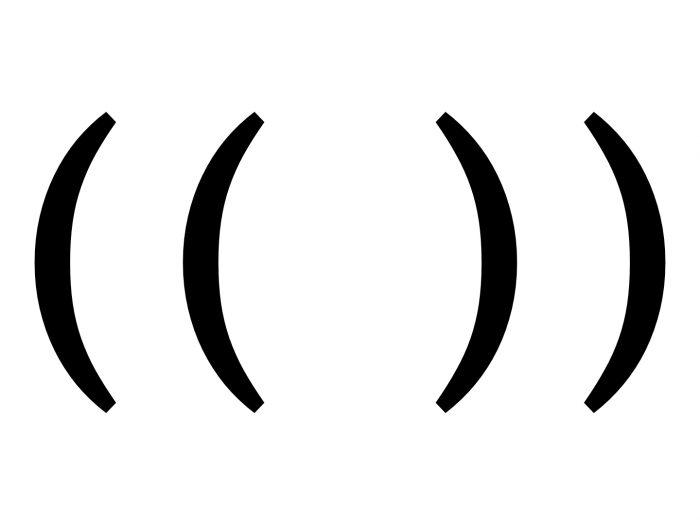Тройные скобки: что это значит и как появилось