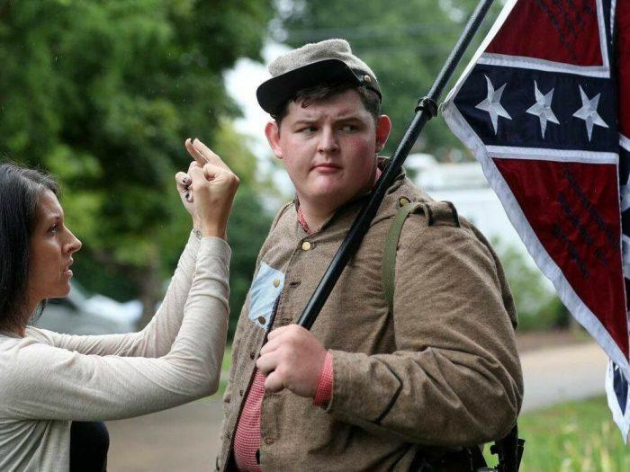 Left hate in Charlottesville