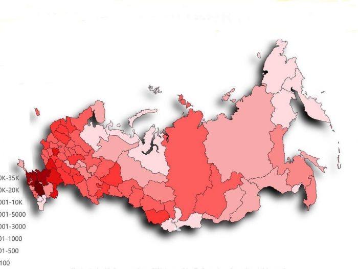 Сколько цыган проживает в российских регионах
