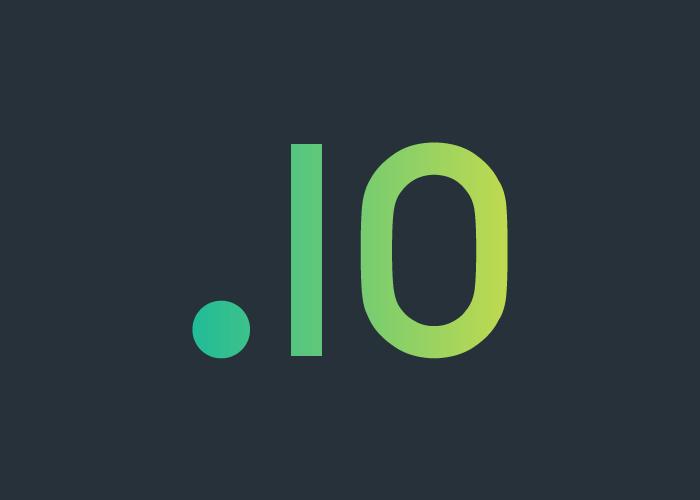 Почему домен io стал так популярен?