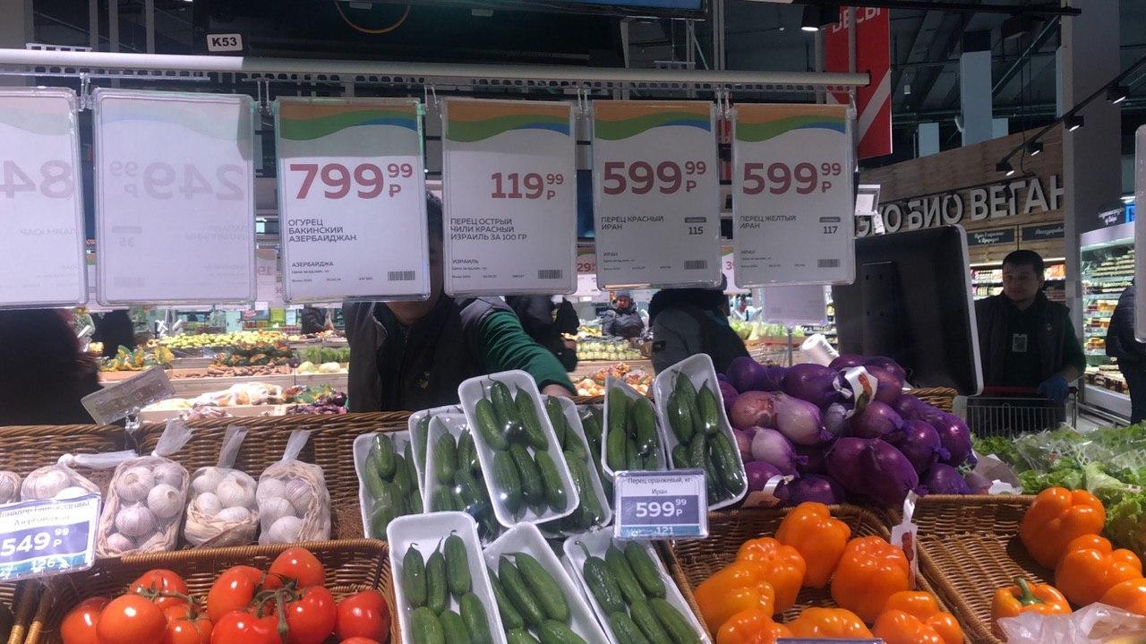Запретят жаловаться на высокие цены на еду