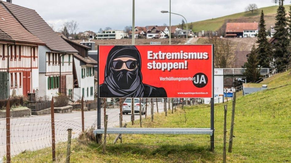 В Швейцарии запретили носить скрывающую лицо одежду