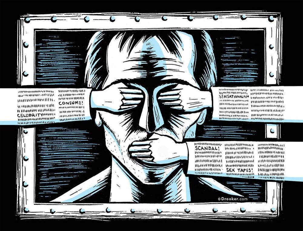 Мыслепреступление: борьба левых со свободой слова