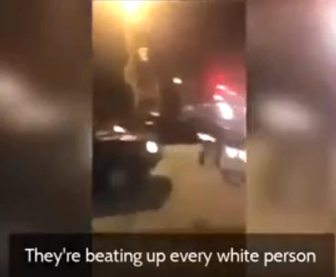 В США негры напали на белых из-за цвета кожи