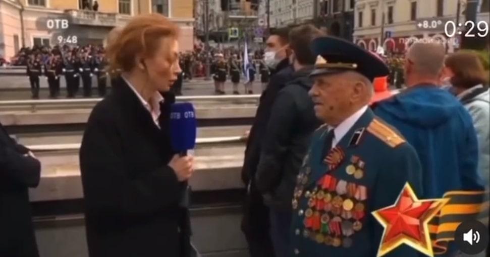 Журналистка поиздевалась над ветераном во Владивостоке
