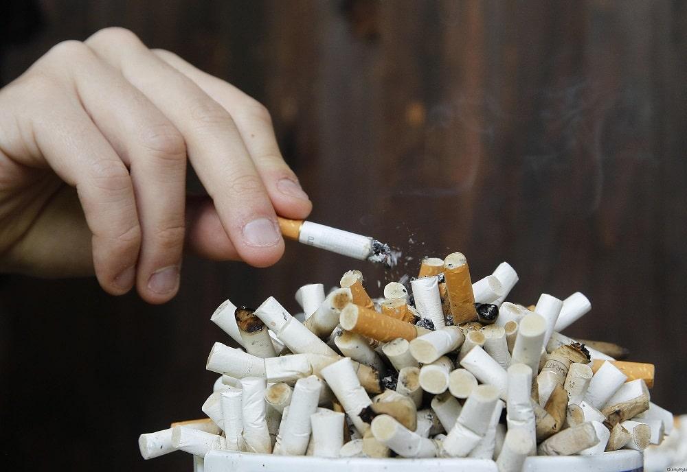 43% правых никогда не курили